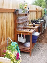 Outdoor Potting Bench With Sink Garden Work Bench Gardening Ideas