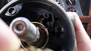 1993 jeep cherokee steering column repair youtube