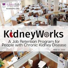 kidneyworks chronic kidney disease and employment