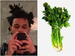 The Weeknd Hair Meme - 13 foods that look like the weeknd s hair