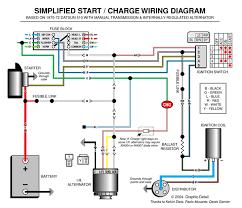 automotive alternator wiring diagram boat electronics