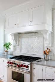 kitchen alcove ideas kitchen with board and batten trimmed stove alcove