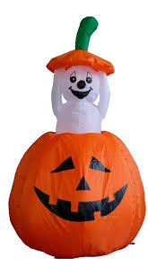 the holiday aisle halloween inflatable pumpkin ghost decoration