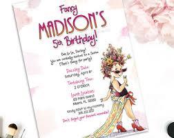 fancy invitations fancy invitations etsy