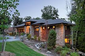 prairie style homes frank lloyd wright prairie style with garage and beautiful