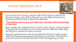 why did the pilgrims have the first thanksgiving new england colonies chapter 3 lesson ppt download
