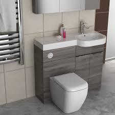 gravity combination vanity unit blue and basin bathroom