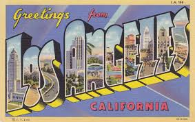 More Postcards Amp Stamps Usa Map Virginia by Greetings From Losangeles California Vintage Postcard