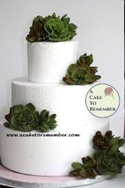 gumpaste succulent cake topper for wedding cakes edible