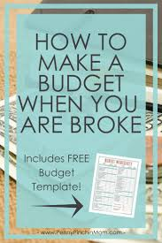 How To Make Budget Spreadsheet 25 Best Budget Worksheets Ideas On Pinterest Free Budget