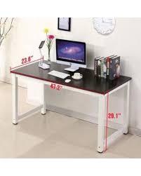 Wood Computer Desk For Home Don U0027t Miss This Deal Ktaxon Wood Computer Desk Pc Laptop Study