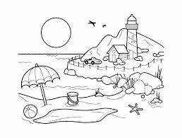 free printable coloring pages for adults landscapes scenery coloring pages beautiful printable for adults to print and