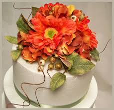 fall wedding cakes u2013 decorating with silk flowers afloral com