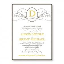 wedding invitation layout 5 free wedding invitation sles the american wedding