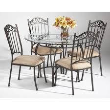 Rod Iron Dining Chairs Articles With Wrought Iron Dining Table And Chairs Set Tag