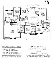 41 3 bedroom house floor plans bedroom 2 bath house plan design 6