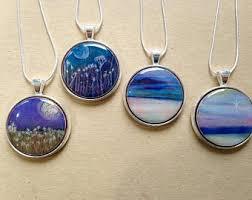 necklace pendants etsy images Art pendant etsy jpg