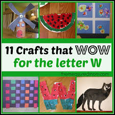 letter w crafts the measured mom