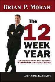 12 week year book the 12 week year by brian p