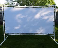 Backyard Projector Backyard U0026 Patio Impressive Big Screen Backyard Theater Systems