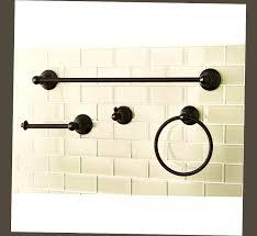 best oil rubbed bronze bathroom accessories ellecrafts