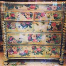 oak chest of drawers with transfer original french vintage