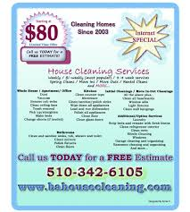 free house cleaning flyer templates housekeeping ads hatch urbanskript co