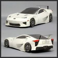 lexus lfa model lfa paper car free paper model