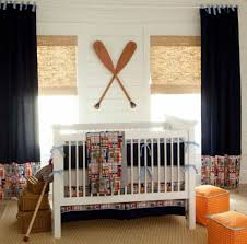 Curtains For Baby Boy Bedroom Curtain Baby Boy Nursery Decorated With Bamboo Blinds Andains