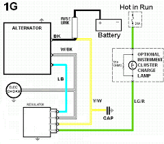 suggested wiring diagram alternator field disconnect circuit