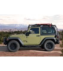 jeep wrangler rubicon two door jeep jk 2door stealth rack multi light setup gobi racks