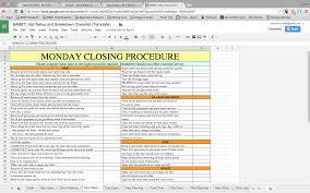 house cleaning resume sample bar setup breakdown checklist breakdown checklist