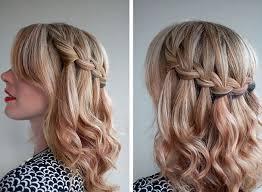 Sch E Hochsteckfrisurenen Mittellange Haare schöne frisuren für mittellange haare geflochten