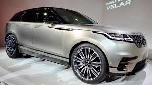 suv range rover all new 2018 range rover velar interior exterior drive perfect