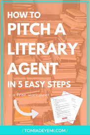 how to pitch a literary agent in 5 easy steps u2014 tomi adeyemi