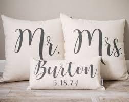 wedding pillows wedding pillow etsy