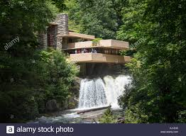 frank lloyd wright waterfall fallingwater wright stock photos u0026 fallingwater wright stock