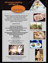 weddings u2014 barbrix