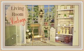 vintage livingroom sims 4 vintage living room