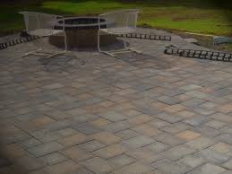 Patio Paver by Residential Crossing Pattern Circle Patio Paver Designs