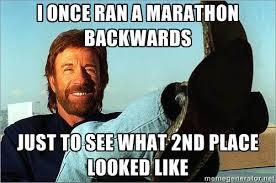 Running Marathon Meme - 19 thoughts everyone has after running a marathon
