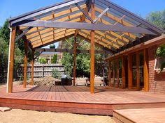 Attached Pergola Plans by Gable Pergola Plans Peaked Pergolapergola With Slanted Roofpitched