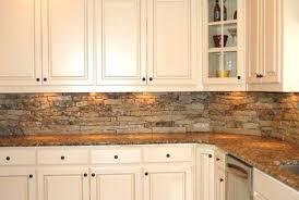 stone kitchen backsplashes backsplash kitchen rustic normabudden com
