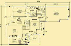 one level floor plans one story house plans 2 bedrooms with a fantastic view