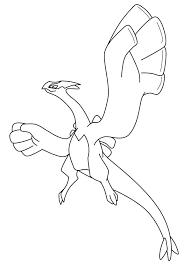 pokemon coloring pages lugia legendary pokemon coloring pages coloring pages legendary birds