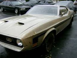 mustang project cars for sale 1971 ford mustang mach 1 project car