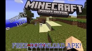 minecraft pe free apk minecraft pe 1 2 0 free apk link in description