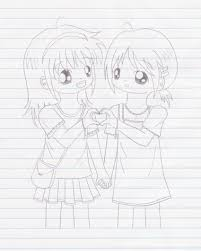 pictures best friends sketch drawing art gallery