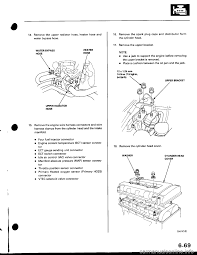 engine coolant honda civic 1996 6 g workshop manual