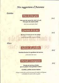 restaurant la cuisine du marché restaurant la cuisine du marche au caloupile carte et menus